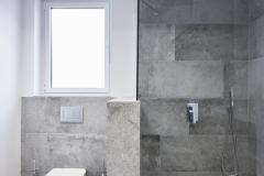 plato ducha en reforma completa de baño