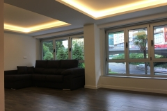 techos salón con iluminación